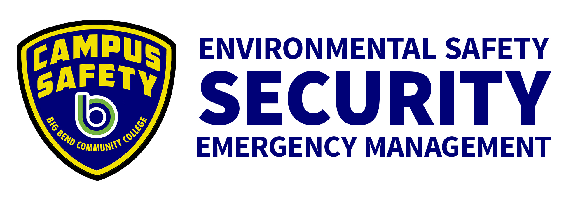 Campus Safety: environmental safety, security, emergency management