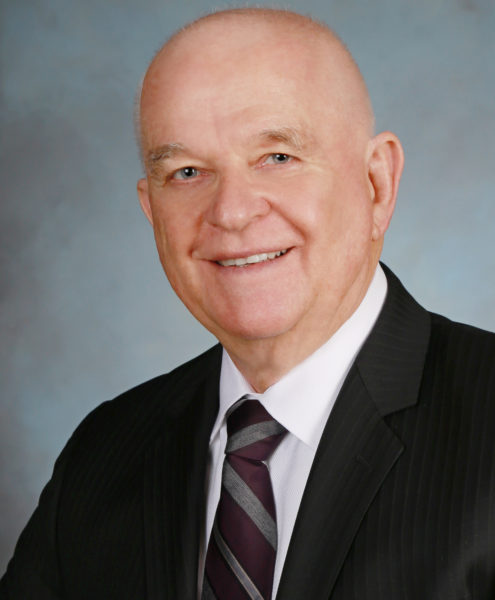 Foundation Board member, Jerry Moberg