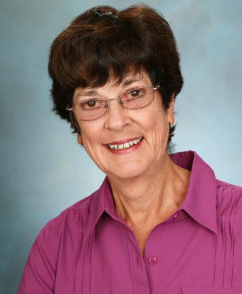 Foundation Board member, Judy Oakes
