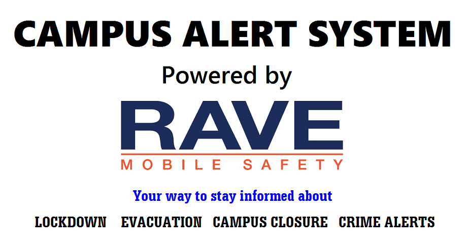 Campus Alert System powered by Rave