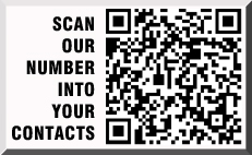 Scan our number into your contacts